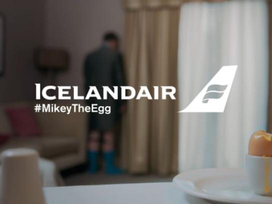 Icelandair Film Ad - Mikey the Egg