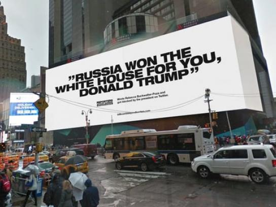 Reporters Without Borders Digital Ad - Billboards Beyond Borders