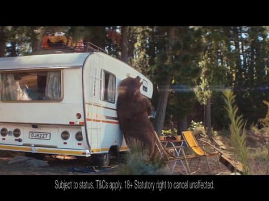 Sunny Film Ad - Bear vs Camper