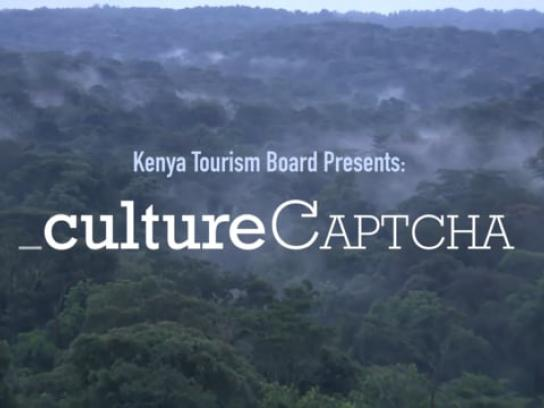 Kenya Tourism Board Digital Ad - Culture Captcha