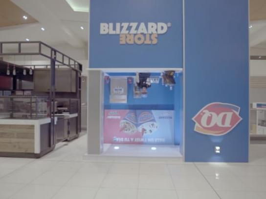 Dairy Queen Experiential Ad - Blizzard Store