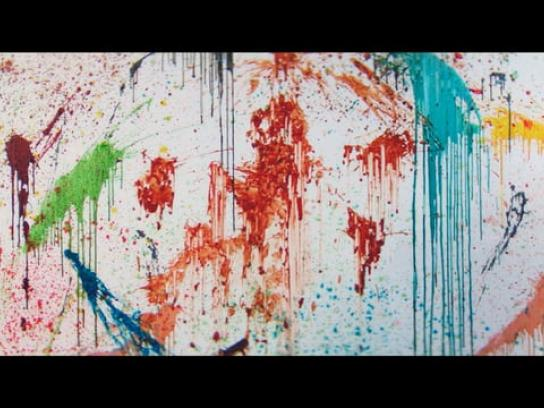 Poli-Farbe Film Ad - Stains
