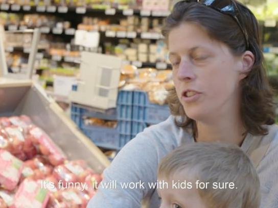 Delhaize Film Ad - The Vegetables Name Change
