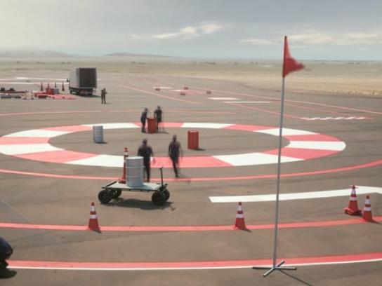 Volkswagen Film Ad - Test Track
