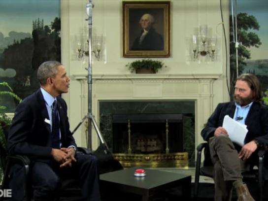 Affordable Care Act Film Ad - Between Two Ferns with Zach Galifianakis: President Barack Obama