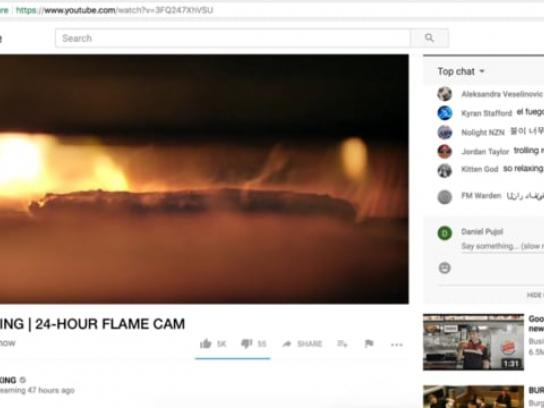 Burger King Digital Ad - The Flame Cam