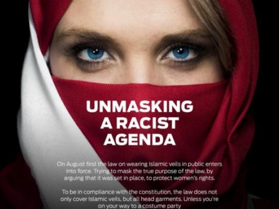 Ekstra Bladet Digital Ad - Unmasking a Racist Agenda