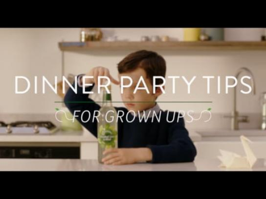 Robinsons Film Ad - Dinner Party Tips for Grown Ups