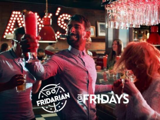 TGI Fridays Film Ad - TGI Friday's Fridarian Launch - School Night