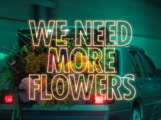 Flower Council of Holland Film Ad - We Need More Flowers