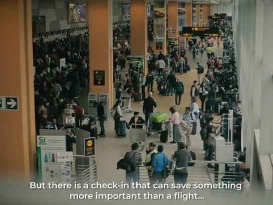 Lima Airport Partners Experiential Ad - The Other Check-In