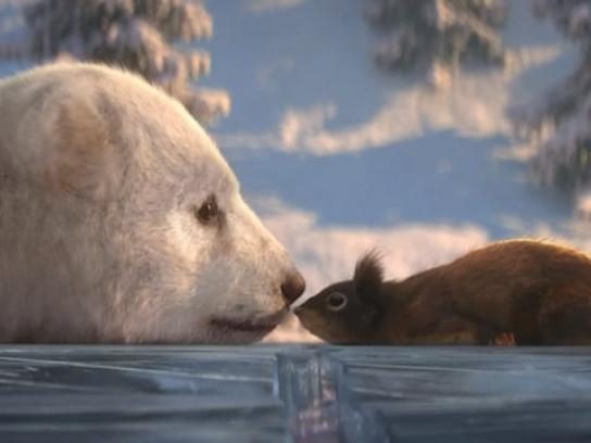 Dancing on Ice Film Ad - Bear and Squirrel