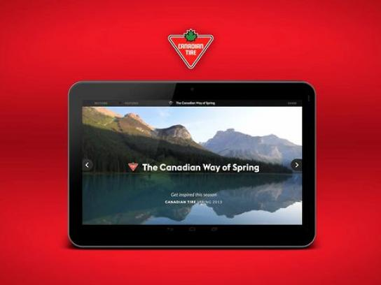 Canadian Tire Digital Ad -  The Canadian Way of Spring