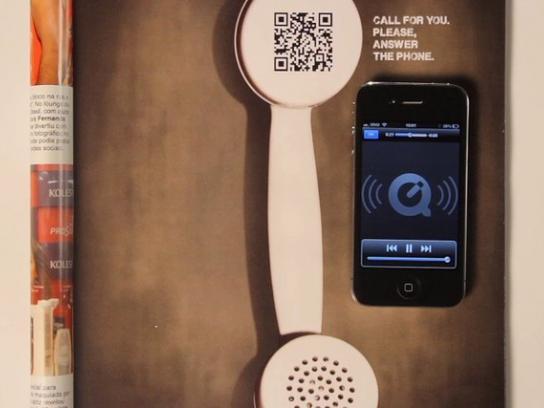 APM Print Ad -  Call for You