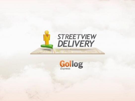 Gollog Express Digital Ad -  Streetview delivery