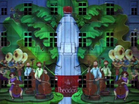 Theodora Ambient Ad -  Drop of Excitement