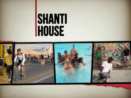 Shanti House Print Ad -  Margins