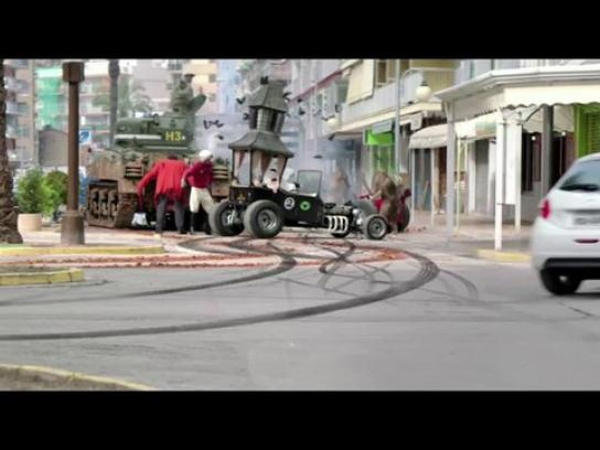 Peugeot Film Ad -  Wacky Races