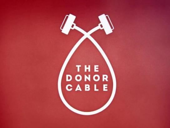 Clube SangueBom Direct Ad -  The Donor Cable