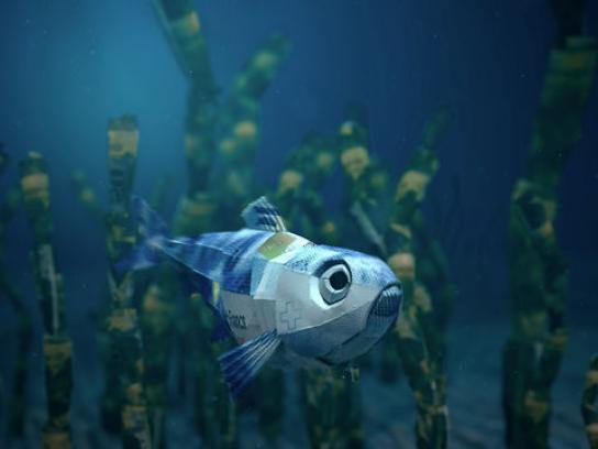 Bank Coop Film Ad -  Herring vs. Shark