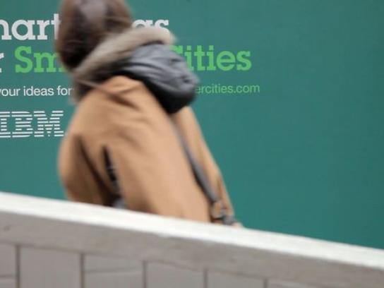 IBM Outdoor Ad -  People For Smarter Cities