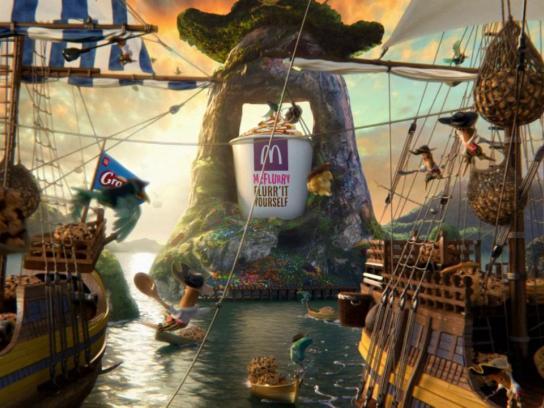 McDonald's Film Ad -  Le Manège
