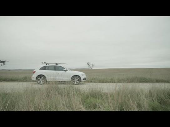 Audi Ambient Ad -  Australia. Land of quattro.