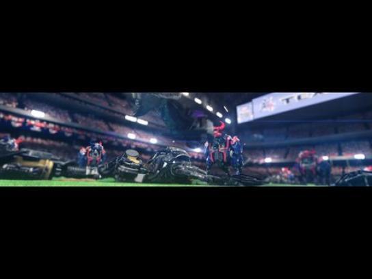 Houston Texans Outdoor Ad -  NFL robots