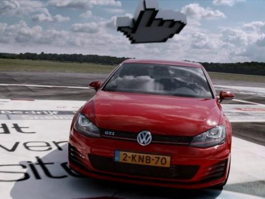 Volkswagen Digital Ad -  GTI BannerBahn