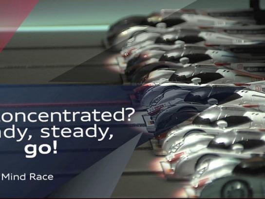 Audi Ambient Ad -  Mind Race