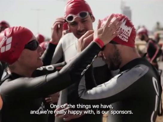 ORCA Ambient Ad -  Garmin Barcelona Triathlon