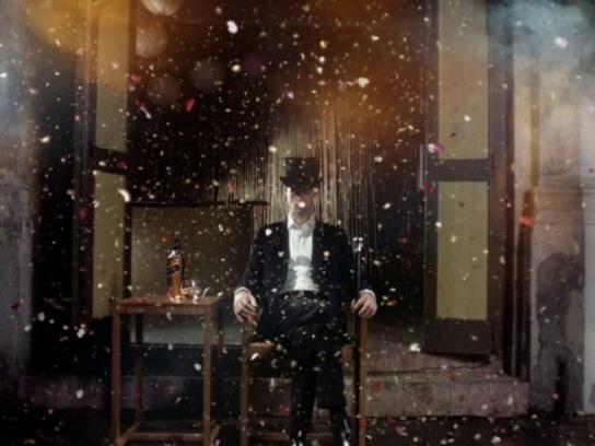 Johnnie Walker Film Ad -  Explosion