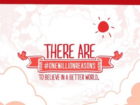 Coca-Cola Digital Ad -  #onemillionreasons