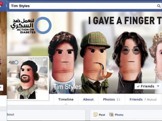 Novo Nordisk Gulf Digital Ad -  Fingers To Diabetes