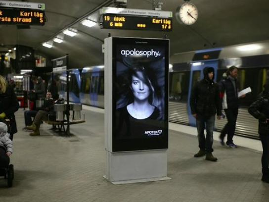 Apotek Outdoor Ad -  Subway