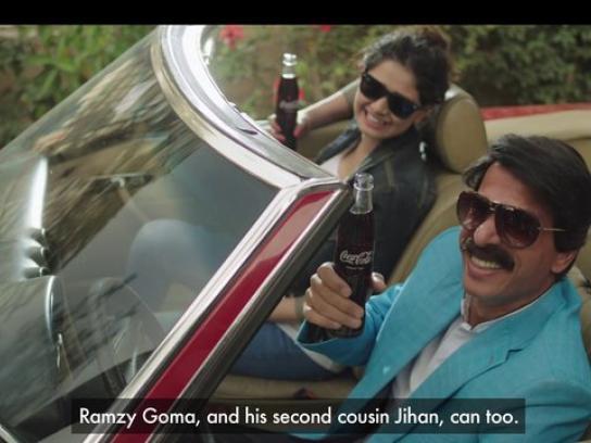 Coca-Cola Film Ad -  Anyone but Wael