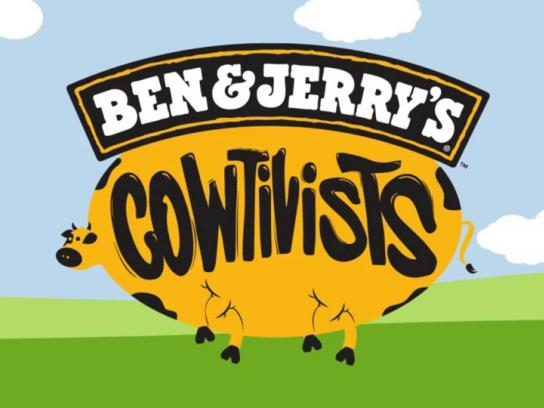 Ben & Jerry's Ambient Ad -  Cowtivists