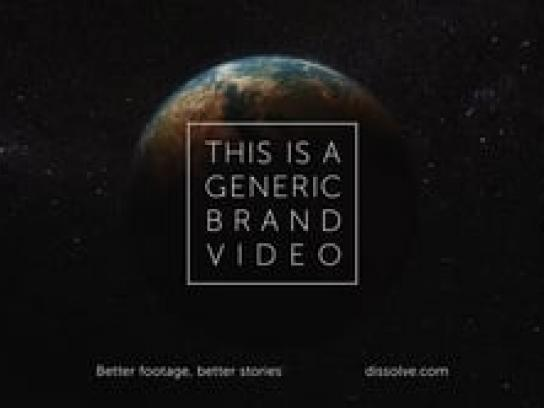 Dissolve Film Ad - This Is a Generic Brand Video