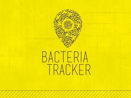 TUI Ambient Ad -  Bacteria tracker