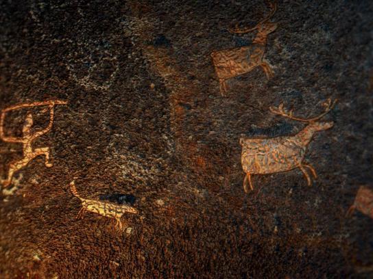 Russian Anthropological Film Festival Film Ad -  Ancient cinema