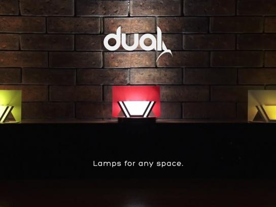 Dual Direct Ad -  Pop Up Lamp