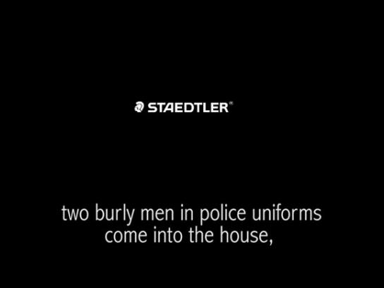 Staedtler Audio Ad -  Police