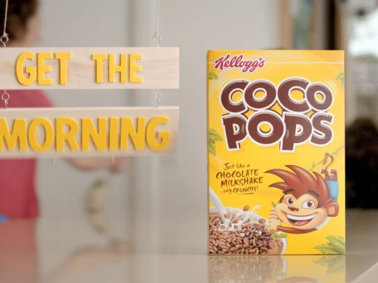 Kellogg's Film Ad -  Fun gets the morning done