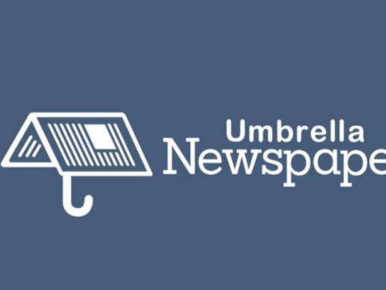 Extra Newspaper Direct Ad -  Umbrella