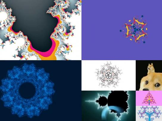IBM Digital Ad -  Fractal Fest