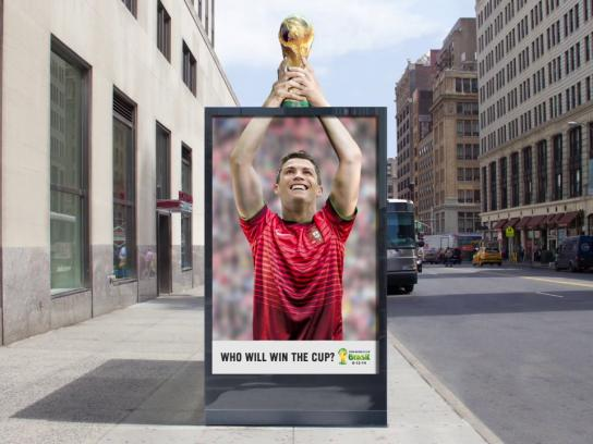 FIFA Outdoor Ad -  Revolving Billboard