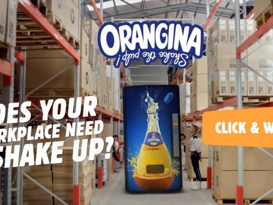 Orangina Digital Ad -  Shake Things Up