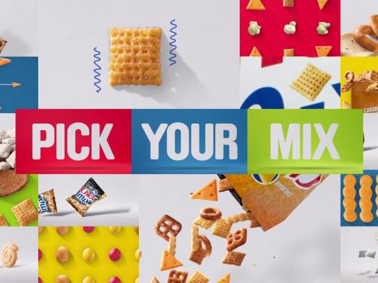 Chex Mix Film Ad -  Pick your mix