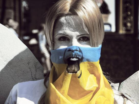 Civil Sector of Euromaidan Direct Ad -  Silent Scream
