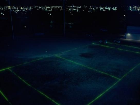 Champs Sports Film Ad -  Night glow